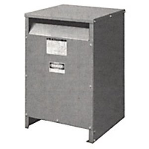 Square D 10S40F Transformer, Dry Type, 10KVA, 600VAC x 120/240VAC, NEMA 3R