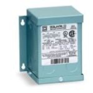 Square D 15T7F Transformer, Dry Type, 15KVA, 600? - 208Y/120VAC, 3PH, NEMA 2