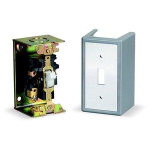 Square D 2510FG1 Manual Starter, 16 Amp, 1-Phase, 1-Pole, Non-Reversing, NEMA 1, 277 Volt AC