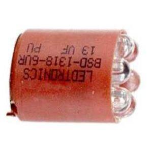 Square D 6508805210 Indicator Light, LED Lamp, Red, BA9s, 1PH, 30MM