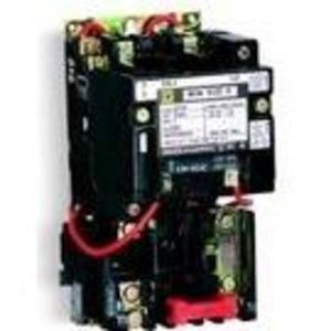 Square D 8536SDO1V02S Starter, Size 2, 45A, 600VAC, 120VAC Coil, Non-Reversing, Open, 3P