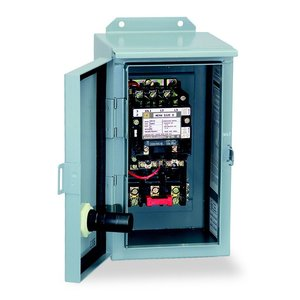 Square D 8536SEA1V08 Starter, Size 3, 90A, 600VAC, 208VAC Coil, Non-Reversing, NEMA 12