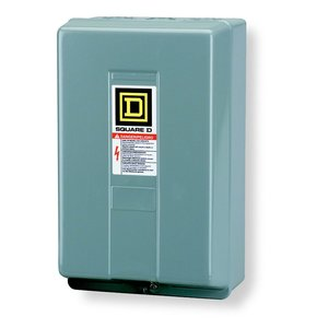 Square D 8903LG20V02 Contactor, Lighting, 30A, 600VAC, 2P, NO, 120VAC Coil, NEMA 1