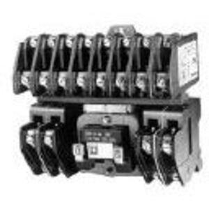 Square D 8903LO40V02 Contactor, Lighting, 30A, 600VAC, 120VAC Coil, 4P, 4NO Contacts