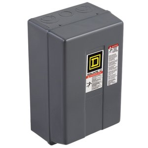 Square D 8903LXG1200V02 Contactor, Lighting, 30A, 600VAC, 120VAC Coil, 12P, NO Contacts