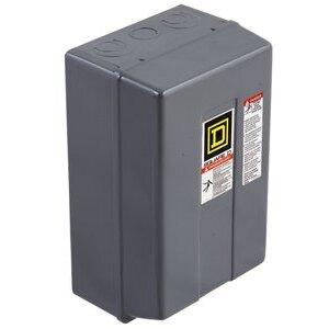 Square D 8903LXG60V02 Contactor, Lighting, 30A, 600VAC, 120VAC Coil, 6P, NO Contacts