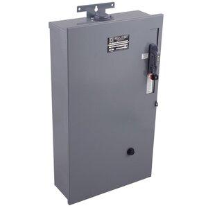 Square D 8940WC3S2V06Y61 Pump Panel, Fusible, NEMA Size 1, 30A, 480VAC, NEMA 3R, 3PH, 3P