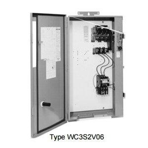 Square D 8940WD1S2V03H30 Pump Panel, Fusible, NEMA Size 2, 60A, 240VAC, NEMA 3R, 3PH, 3P