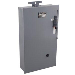Square D 8940WD3S2V06Y61 Pump Panel, Fusible, NEMA Size 2, 60A, 480VAC, NEMA 3R, 3PH, 3P