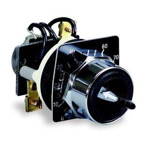 Square D 9001K2108 Potentiometer, 10K Ohms, 30mm, 300VAC, with Legend Plate