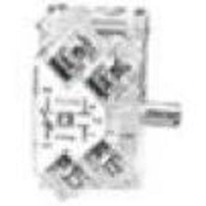 """Square D 9001KA1 Contact Block, 1NO/NC, 30mm, 0.75"""" Depth"""