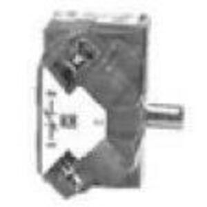 """Square D 9001KA2 Contact Block, 1NO, 30mm, 0.75"""" Depth"""