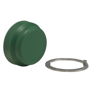 Square D 9001KU5 Push Button, 30mm, Boot, Green, Silicone Rubber