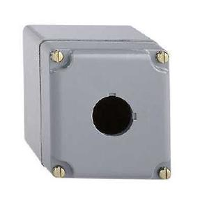 Square D 9001KY1 Enclosure, 30mm, 1-Hole, Aluminum, NEMA 1/3/4/13