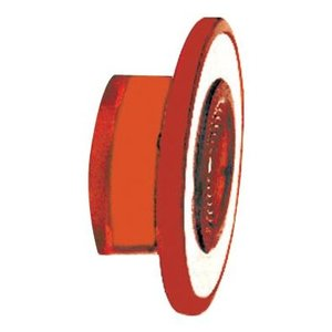 Square D 9001R22 Push Button, 30mm, Push/Pull, Mushroom Head Only, Red, Illuminated