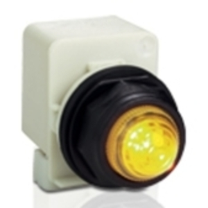 Square D 9001SKR1U Push Button, Multicolor, 30mm, Full Guard, Operator Only, Momentary