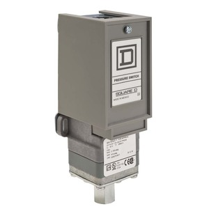 Square D 9012GNG5 Pressure Switch, Electromechanical, 10A, 120/240VAC, 250VDC, 475PSI
