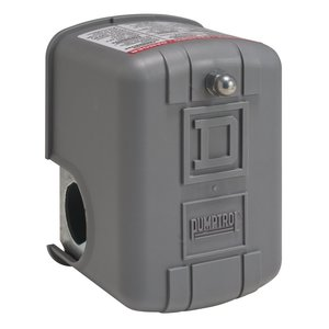 Square D 9013FRG22J22Q8 Pressure Switch, Type 1 Enclosure, 4-25 Cut-Out, 10-45 Cut-In PSI