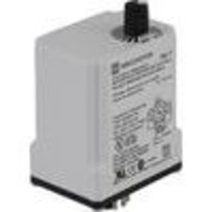Square D 9050JCK29V20 Relay, Timer, 10A, 240VAC, 120VAC, 11 Pin, 2PDT, Off-Delay