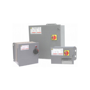 Square D 9070SK1000G1D1G14 Transformer Disconnect, 1kVA, 240/480 x 120VAC, GFCI Recpt. in Door