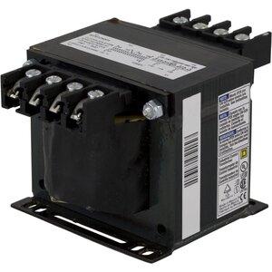 Square D 9070T250D5 Control Transformer, 250VA, Multi-Tap, Type T, 1PH, Open