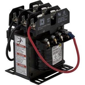 Square D 9070TF100D88 Transformer, Control, 100VA, 380 - 24VAC, Type TF, w/Fuse Blocks