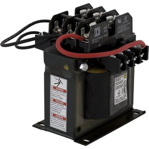 Square D 9070TF300D5 Control Transformer, 300VA, Multi-Tap, Type TF, 1PH, Open