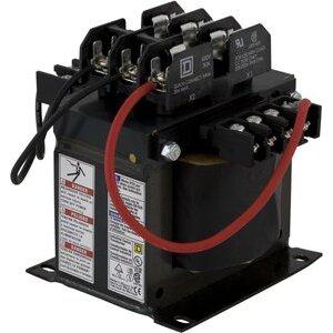 Square D 9070TF500D50 Control Transformer, 500VA, Multi-Tap, Type TF, 1PH, Open