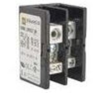 "Square D 9080LB53 Power Block Cover, Screw-On, .045"" Thick, Non-Metallic, Black, 3P"