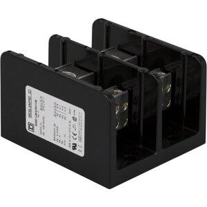 Square D 9080LBA264108 Power Distribution Block, 2-Pole, 335A, 14 AWG - 600 MCM