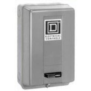 Square D 9991SCG9 Enclosure, NEMA 1, for 8702/8736 SAO/SBO/SCO, Reversing Contactor