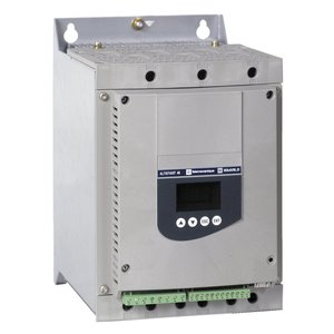 Square D ATS48C11Y Soft Starter, ATS48, 110A, 690VAC, 90kW, 3PH, 100HP, Asynchronous