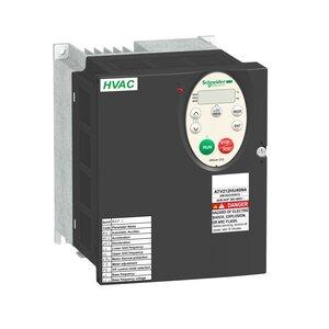 Square D ATV212HU55N4 AC Drive, Altivar, 12A, 7.5HP, IP20, Size 2A, 400/480VAC, 5.5kW