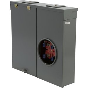 Square D CM200S Meter Main, 4 Jaw, 1PH, 200A, 120/240VAC, 2P, No Distribution
