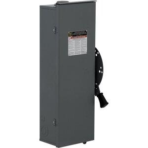 Square D DTU361RB Transfer Switch, Non-Fused, 30A, 600VAC, 600VDC, 3P, NEMA 3R