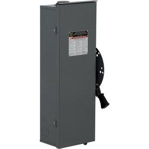 Square D DTU363RB Transfer Switch, Non-Fused, 100A, 600VAC, 600VDC, 3P, NEMA 3R