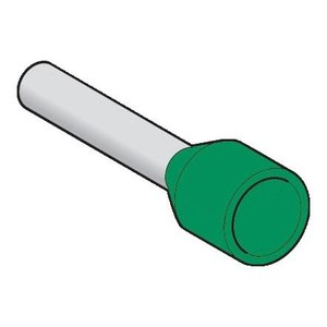 Square D DZ5CE003 GREEN CABLE END FOR 24
