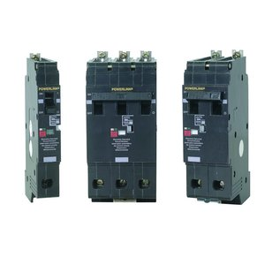 Square D ECB24020G3 Breaker, Molded Case, 20A, 480VAC, 2P, 14kAIC, Bolt On, Remote