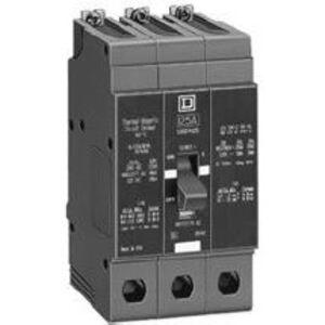 Square D EDB34020 Breaker, Bolt On, 3P, 20A, 480Y/277VAC, 25KAIC, Thermal Magnetic