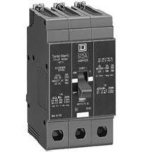 Square D EDB34050 Breaker, Bolt On, 3P, 50A, 480Y/277VAC, 25KAIC, Thermal Magnetic