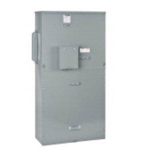 Square D EZM11200GCBE Meter Pak, Main Breaker, Center, 1PH, 1200A, 120/240VAC, UG Only