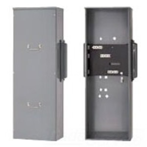Square D EZM31600TB Meter Pak, Terminal Box, 1600A, 3PH In, 120/240VAC, OH/UG