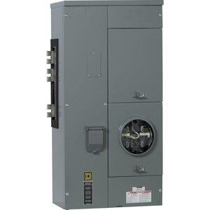 Square D EZML111225 Meter Pak, Branch Unit, 1 - 225A Socket, 1200A, 120/240VAC, 1PH