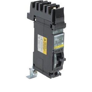 Square D FA14030A Breaker, Molded Case, 30 Amp, 1-Pole, 277 Volt AC, 125 Volt DC, A Phase
