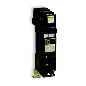 Square D FY14020A Breaker, Molded Case, 20A, 277VAC, 125VDC, 1P, A Phase