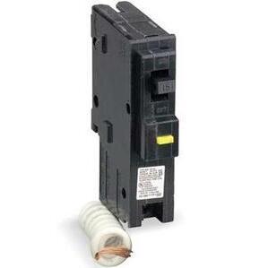 Square D HOM115CAFI Breaker, Arc Fault, 1P, 15A, 120/240VAC, 10 kAIC