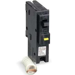 Square D HOM120CAFI Breaker, Arc Fault, 1P, 20A, 120/240VAC, 10 kAIC