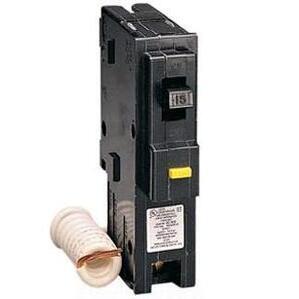Square D HOM120GFI Breaker, GFCI, 1P, 20A, 120/240VAC, 10 kAIC