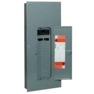 Square D HOM24L70S Load Center, Main Lug, 1PH, 70A, 120/240VAC, 2/4, NEMA 1