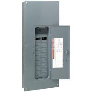 Square D HOM3060M200PC Load Center, Homeline, Main Breaker, 200A, 120/240VAC, NEMA1